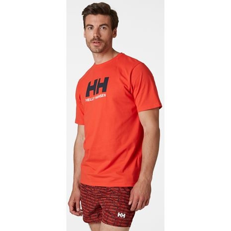 Helly Hansen HH Logo T-Shirt - Alert Red