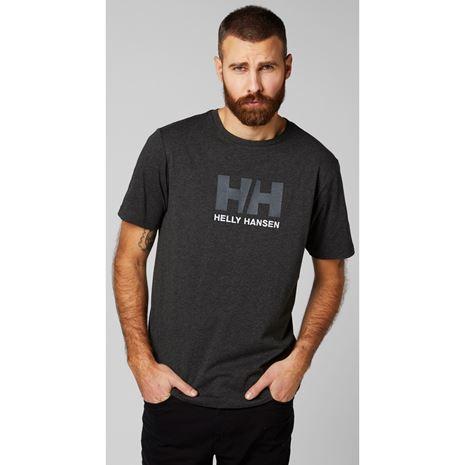 Helly Hansen HH Logo T-Shirt - Ebony Melange