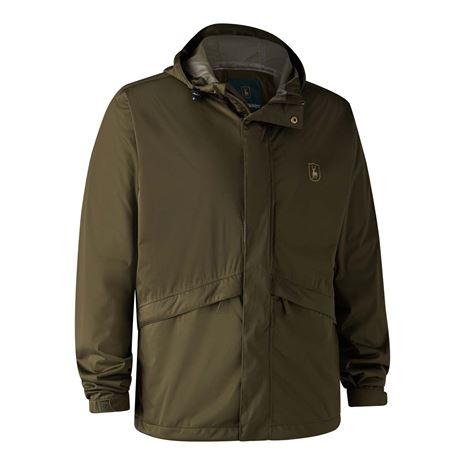 Deerhunter Thunder Rain Jacket - Tarmac Green