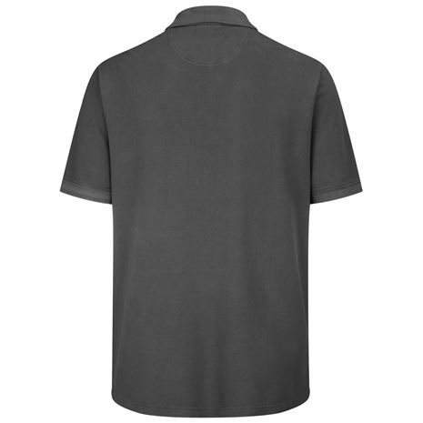 Hoggs of Fife Anstruther Washed Polo Shirt -