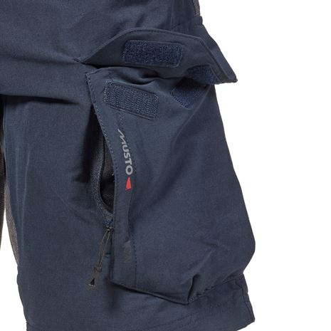 Musto Performance Shorts - True Navy - Pocket