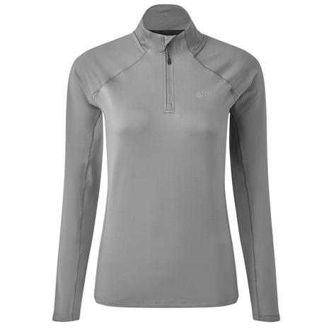 Gill Heybrook Women's Zip Top - Steel Grey