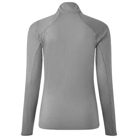 Gill Heybrook Women's Zip Top - Steel Grey - Rear