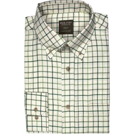 Jack Pyke Countryman Shirts - Green Check
