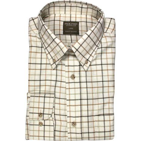 Jack Pyke Countryman Shirts - Brown Check