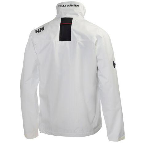 Helly Hansen Crew Jacket - White - Rear