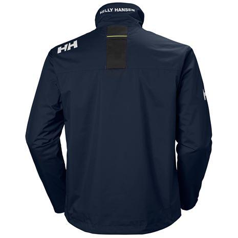Helly Hansen Crew Jacket - Navy - Rear