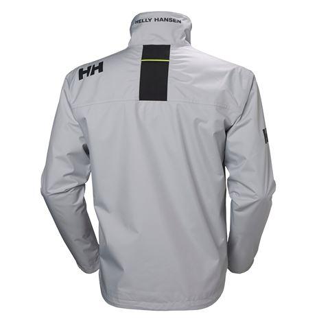Helly Hansen Crew Jacket - Grey Fog - Rear