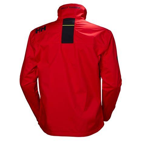 Helly Hansen Crew Jacket - Alert Red - Rear