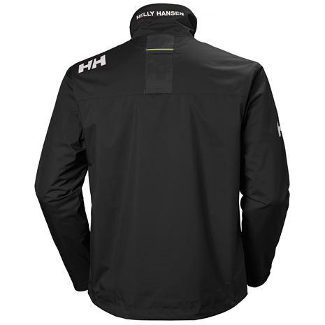 Helly Hansen Crew Jacket - Black - Rear