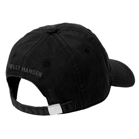 Helly Hansen Logo Cap - Black