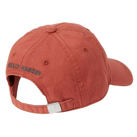 Helly Hansen Logo Cap - Red Brick