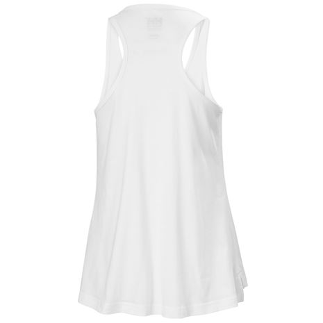 Helly Hansen Womens HH Logo Singlet - White - Rear