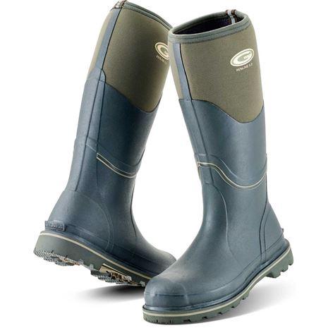 Grubs Fenline 5.0 Wellington Boots - Moss Green