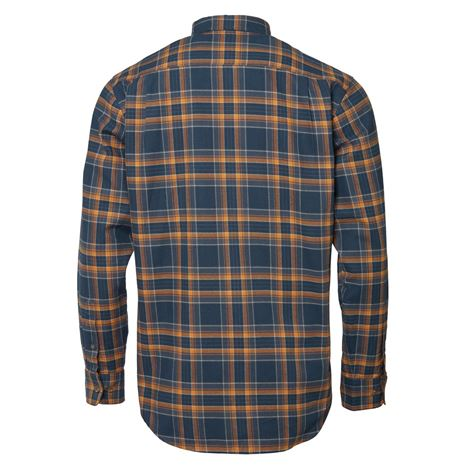 Chevalier Sarek Men's Shirt - Dusty Blue Checked