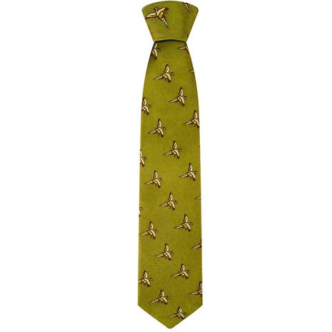 Hoggs of Fife Silk Country Tie _ Gold