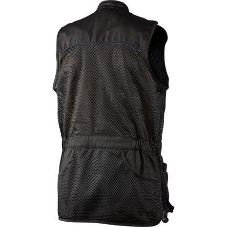 Seeland Skeet Waistcoat - Black - Rear