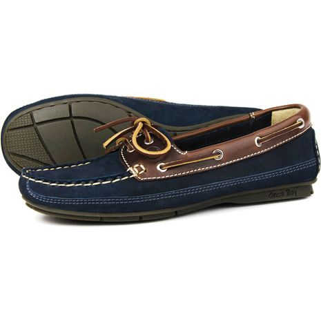 Orca Bay Bahamas Womens Deck Shoes - Indigo/Saddle.