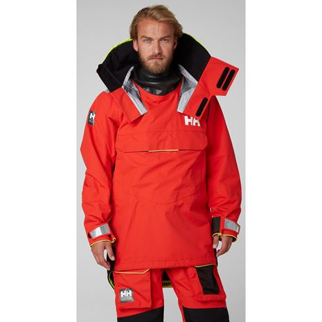 Helly Hansen Aegir Ocean Dry Top - Alert Red