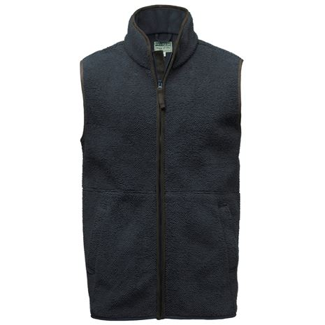 Hoggs of Fife Cambridge Tufted Fleece Gilet