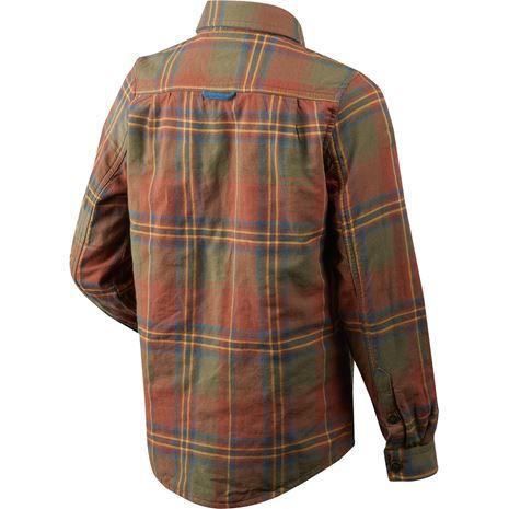 Seeland Nolan Kids Shirt - Rust - Rear