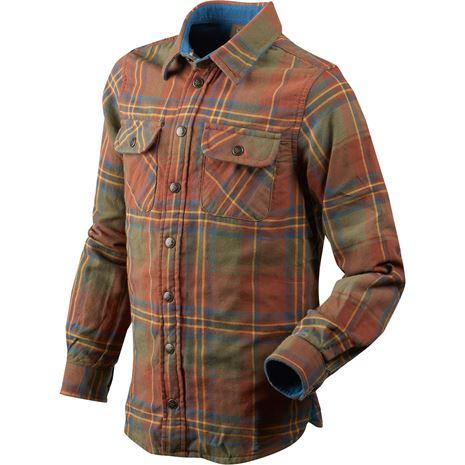 Seeland Nolan Kids Shirt - Rust