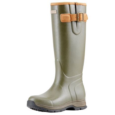 Ariat Women's Burford Wellington Boots - Olive Green