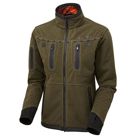 ShooterKing Women's Forest Mist Softshell Jacket - Red Forest Mist - Green Willow lining