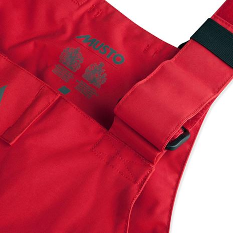 Musto BR2 Offshore Trouser - True Red/Black - Strap