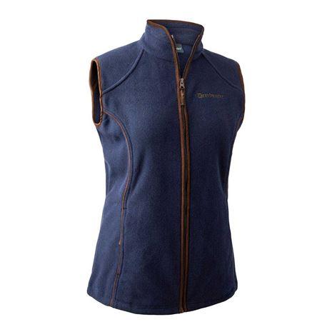 Deerhunter Lady Josephine Fleece Waistcoat - Graphite Blue