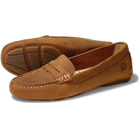 Orca Bay Richmond Ladies Loafers in Sand.