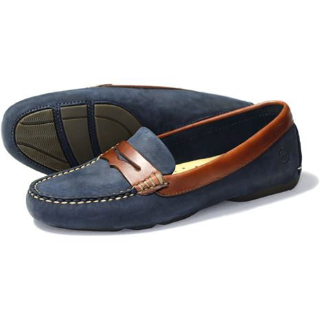 Orca Bay Richmond Ladies Loafers in Navy.