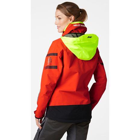 Helly Hansen Womens Skagen Offshore Jacket - Cherry Tomato