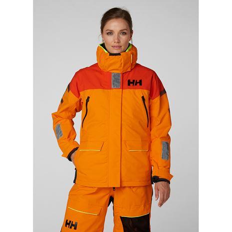 Helly Hansen Womens Skagen Offshore Jacket - Blaze Orange