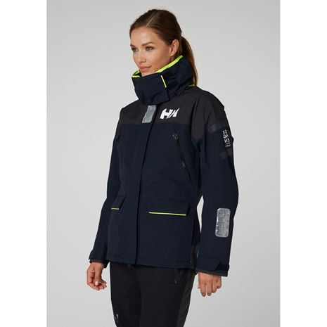 Helly Hansen Womens Skagen Offshore Jacket - Navy