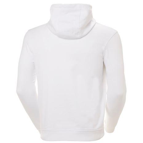 Helly Hansen HH Logo Hoodie - White - Rear