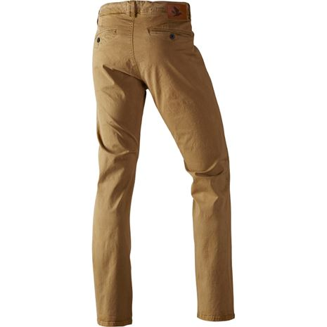 Seeland Callen Chinos - Dull Gold - Rear