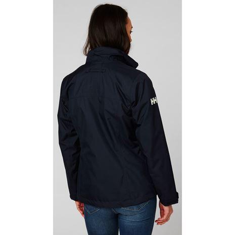 Helly Hansen Womens Team Crew Midlayer Jacket - Navy