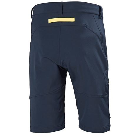 Helly Hansen HP Softshell Shorts - Navy - Rear
