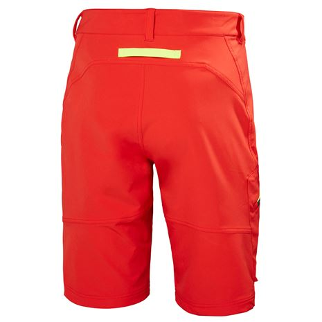 Helly Hansen HP Softshell Shorts - Alert Red - Rear