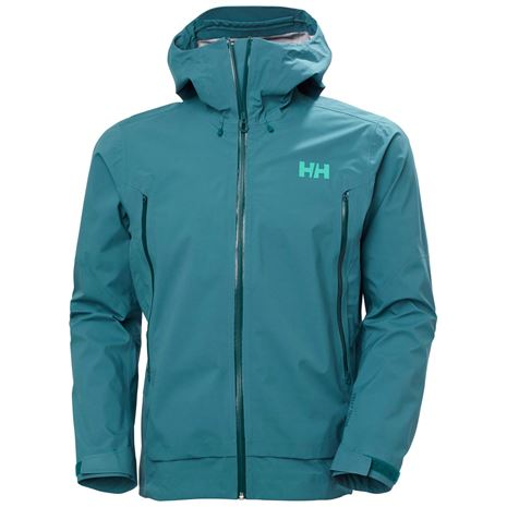 Helly Hansen Verglas Infinity Shell Jacket - North Teal Blue