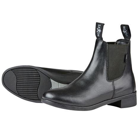 Saxon Syntovia Jodhpur Boots - Black