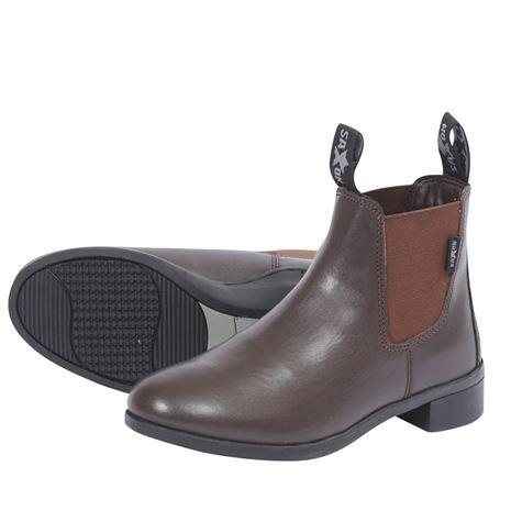 Saxon Syntovia Jodhpur Boots - Brown