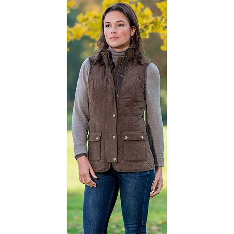 Baleno Scarlet Lady Gilet - Brown