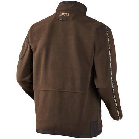 Harkila Kamko Reversible Fleece - Rear Brown /Red