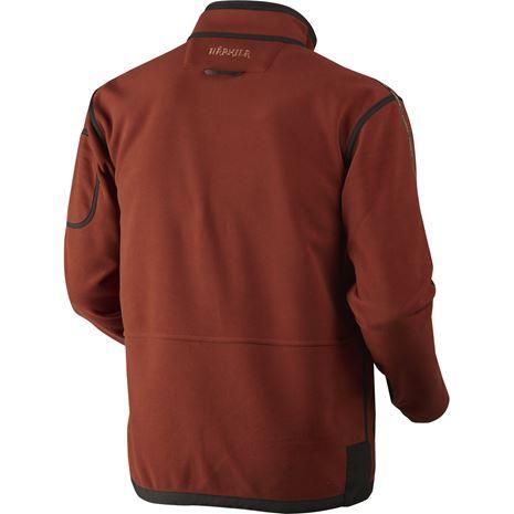 Harkila Kamko Reversible Fleece - Rear Burnt Orange /Shadow Brown