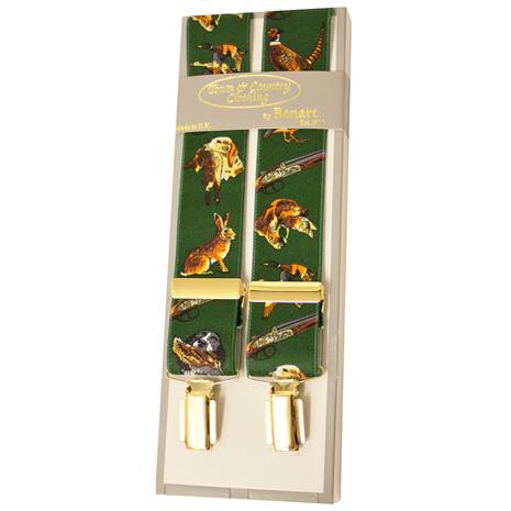 Bonart Braces - Pattern Green