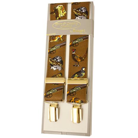 Bonart Braces - Pattern Beige