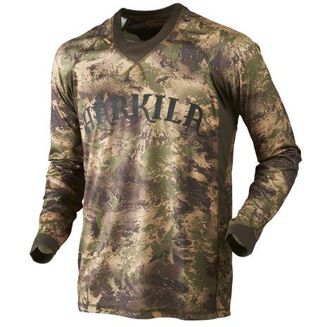 Harkila L/S T-Shirt Lynx