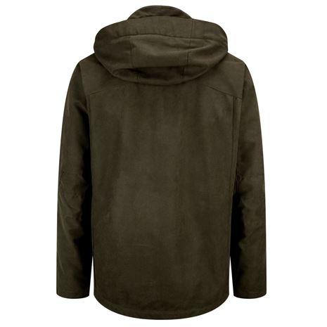 Hoggs of Fife Struther Zip Through Jacket - Dark Green
